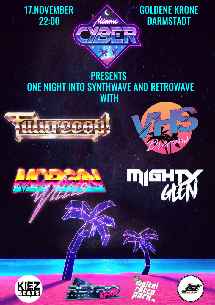 August 2018 – Synthwave – Outrun – Cyberpunk